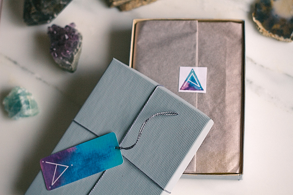 alison titus jewelry branded packaging