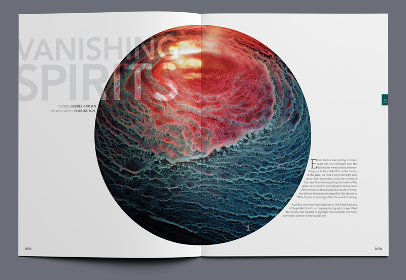 iota magazine vanishing spirits article spread 01