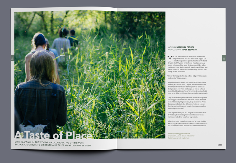 iota magazine a taste of place article spread 01