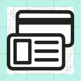 REI cards icon