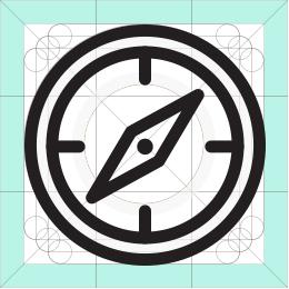 REI compass icon
