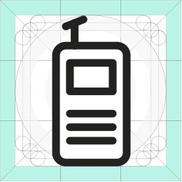 REI radio icon
